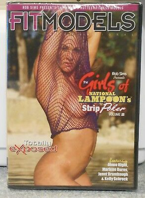 Fit Models The Girls Of National Lampoon  Vol 2 ( Dvd 2006) Rare Brand New