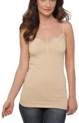 b57a0d168c18c6 A LOT OF 2 Attention Womens Lace Cami Tank Tops Pull Over V-Neck Seamless