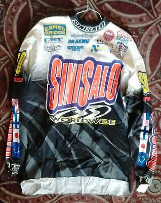 Sinisalo Pacific Racing Worldwide Jersey CAMEL 1989 - 1994 Official Licensed SCX