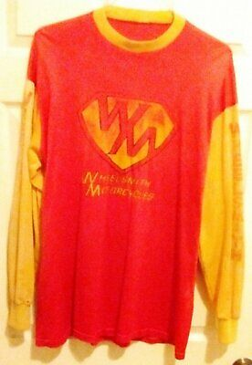 Wheelsmith Maico Motocross Vintage Jersey MX Enduro Desert Motorcycle Racing