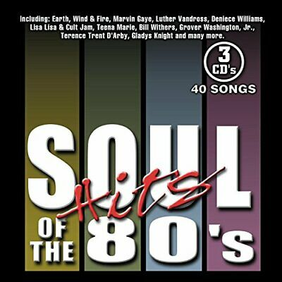 Soul Hits of the 80's Various Artists CD