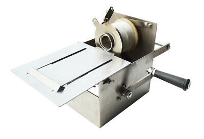 32mm Stainless Steel Hand-rolling Sausage Tying & Knotting Machine Free Shipping