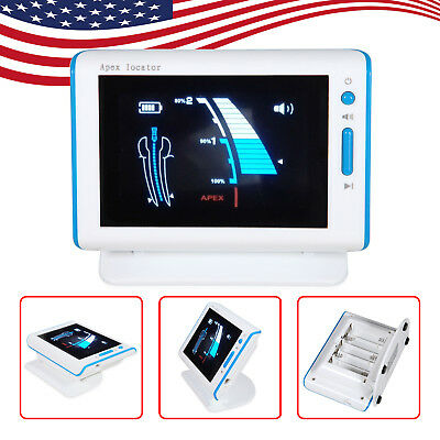 "4.5""LCD Dental Apex Locator Root Canal Meter Finder Endodontic DTE Style USA"
