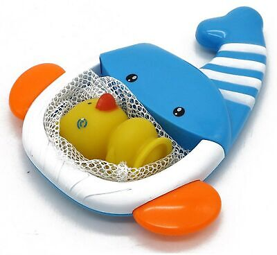 VERZABO Whale net bath toy set for 12 months plus babies