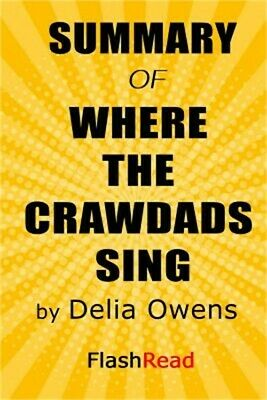 Summary of Where the Crawdads Sing by Delia Owens (Paperback or Softback)