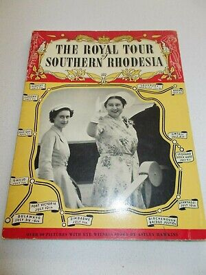 Royal Tour Of Southern Rhodesia - 1953 - Astley Hawkins - 34 Page S/c Book