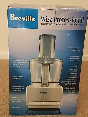 Breville BFP600 Wizz Professional Food Processor Stainless Steel