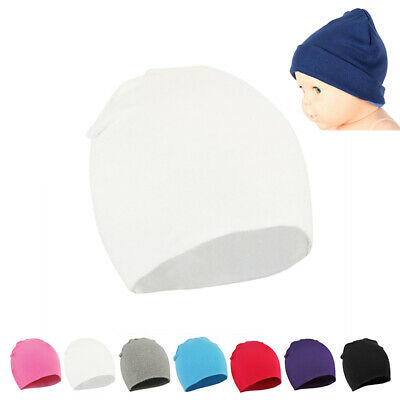 Boys Girls Beanie Hat Cap Newborn Toddler Infant Cute Unisex Fashion Brand New