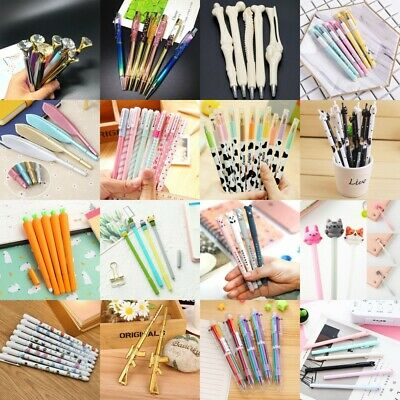 Cute Cartoon Gel Pen Ballpoint Stationery School Office Novelty Gift Wholesale