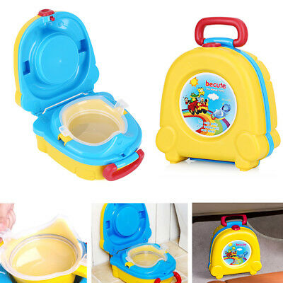 New Kids Toilet Seat Baby Child Toddler Training Potty Portable Car Travel Seats