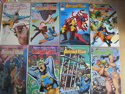 ANIMAL MAN issues 1 -19 : 1st 19 of the CLASSIC 1988 DC series by GRANT MORRISON