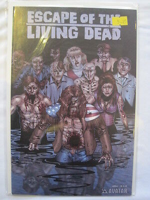 ESCAPE of the LIVING DEAD  Annual  1 .AVATAR 2007