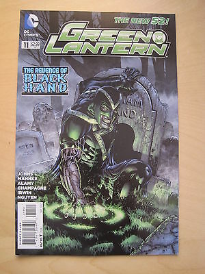 GREEN  LANTERN 11  by Geoff Johns & Mahnke. DC THE NEW 52. 2012