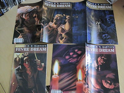 GEORGE R R MARTIN 's FEVRE DREAM:  ISSUES 1,4,5,9. GAME of THRONES. AVATAR.2010
