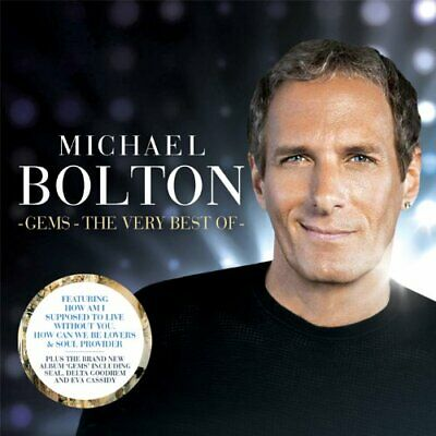 Bolton, michael - Gems - The Very Best Of CD (2) Sony Music NEW