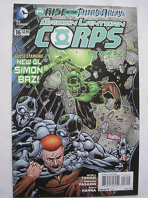 GREEN LANTERN  CORPS  # 16.     1st PRINT. THE NEW 52. DC.2013