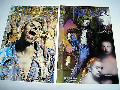 """Hellblazer 68,69 : """"down All The Days"""": Classic 2 Part Constantine Story.1993"""