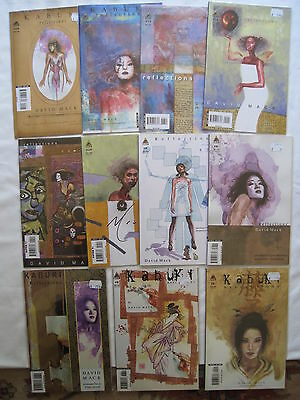 "KABUKI : ""REFLECTIONS"" : #s 5,6,7,8,9,10,11,12,13,14,15 by DAVID MACK. ICON.2005"