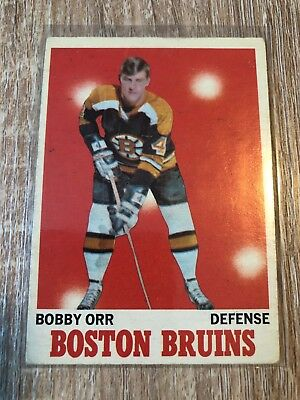 1970-71 O-Pee-Chee #3 Bobby Orr Boston Bruins