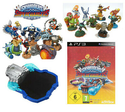 Skylanders Super Chargers Bundle inkl. 10 Figuren - PS3