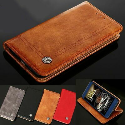 Genuine Luxury Leather Flip Wallet case cover for OnePlus 7 Pro 6&6T 5&5T 3&3T
