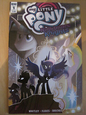 MY LITTLE PONY : NIGHTMARE KNIGHTS issue 1 , Cover A . AS SEEN ON TV.  2018. IDW