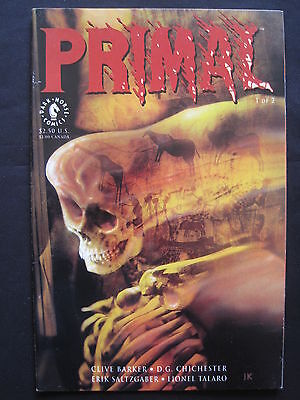 PRIMAL # 1 by CLIVE BARKER, D.G. CHICHESTER, SALTZGABER & TALARO.  DH. 1992