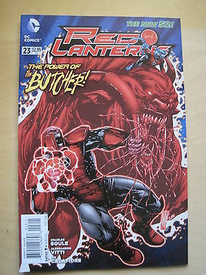 RED LANTERNS  #  23. 1st PRINT. By SOULE & VITTI. DC THE NEW 52. DC. 2013