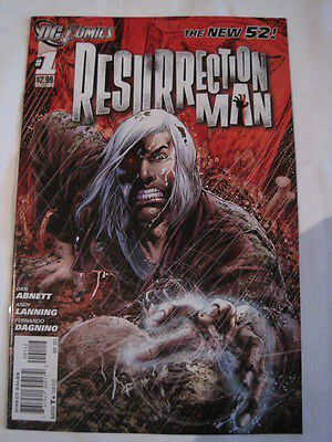 RESURRECTION MAN  #  1. 2nd  PRINT. By ABNETT & LANNING.  THE NEW 52.  DC. 2011