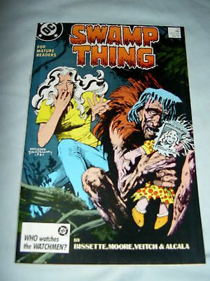 SWAMP THING 59. By ALAN MOORE, VEITCH & ALCALA. DC.1986