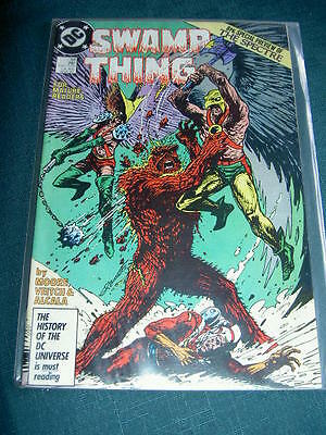 SWAMP THING 58. By ALAN MOORE, VEITCH & ALCALA. DC.1986