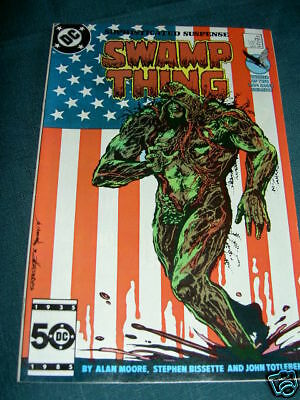 Swamp Thing  44. Alan Moore. S.bissette. Dc Comics.1986