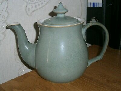 Lovely Stylish Denby Regency Green Teapot Excellent Lightly Used Condition