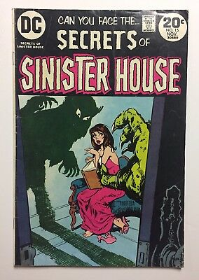 DC Comics Secrets Of SINISTER HOUSE #15 VG