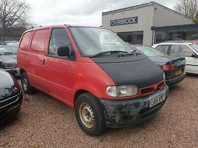 Nissan Vanette spares or repair runs and drives