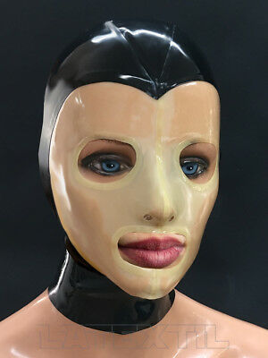 ---- LATEXTIL PREMIUM ---- LATEXMASKE TH - mask rubber masque - Mehrteilig - NEW