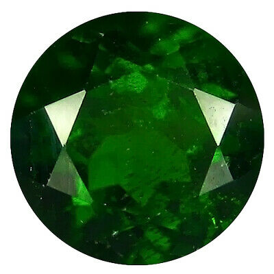1.67 Ct Superb Round Cut (7 x 7 mm) 100% Natural Green Chrome Diopside