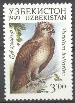 # UZBEKISTAN - 1993 - Pandion haliaetus - Falco Bird of Prey  Animal   MNH Stamp