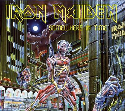 Iron Maiden - Somewhere In Time Collector's Edition (NEW CD & PATCH)