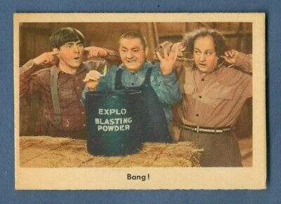1959 Fleer THE THREE STOOGES #73 Bang! (GB) *Excellent-Mint*