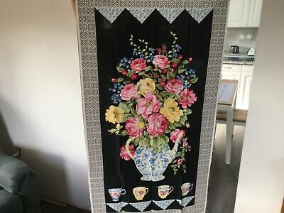 Panel from the High Tea collection by Northcott