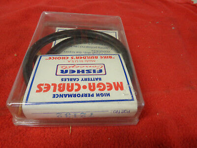 """Battery FISHER Rpl Harley's & Customs Universal Flexible Mega Strands 32"""" Cable"""