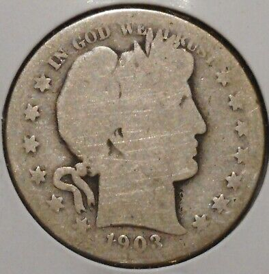 Barber Half - 1903-S - Historic Silver! - $1 Unlimited Shipping