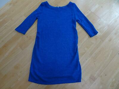 NEW LOOK MATERNITY ladies 3/4 sleeve spring shift dress UK 12 EXCELLENT BLUE