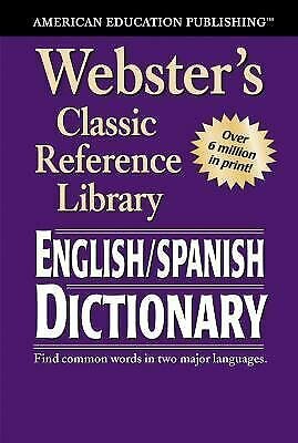 Webster's Classic Reference Library : English / Sp