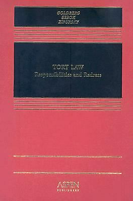 Tort Law : Responsibilities and Redress by Goldberg, John C. P.