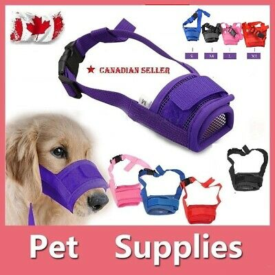 Anti Stop Chewing Pet Dog Adjustable Mask Bark Bite Mesh Mouth Muzzle Grooming