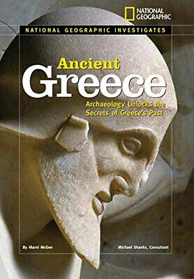 National Geographic Investigates: Ancient Greece : Archaeology Unlocks-ExLibrary