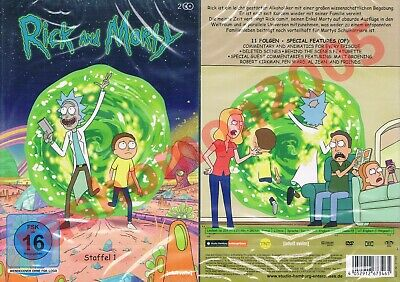 DVD RICK AND MORTY TV SERIES FIRST SEASON 1 Animation Cult Comedy Region 2 NEW