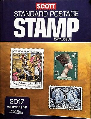 2017 Scott Standard Catalogue Vol 2 C-F Country Stamps BRAND NEW Orig. Cost $125